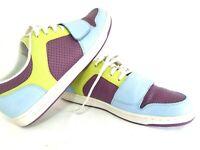 Creative Recreation Cesario Lo Mens Shoes Size US 10 Purple Blue Lime Green