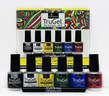 EzFlow Trugel - Design Expert Gel Art Polish Kit - 6 colors x .25oz - 42494