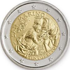Sondermünzen San Marino: 2 Euro Münze 2018 Tintoretto Sondermünze Gedenkmünze