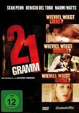 21 GRAMM   DVD NEU  SEAN PENN/NAOMI WATTS/BENICIO DEL TORO/+