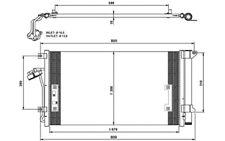 NRF Condensador, aire acondicionado VOLKSWAGEN AUDI Q7 PORSCHE CAYENNE 35639