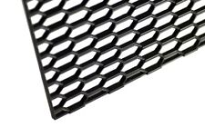 "16"" X 47"" UNIVERSAL BLACK THICK ABS HONEYCOMB MESH for GRILLE , BUMPER , PROJECT"