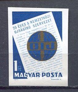 32328) HUNGARY 1971 MNH** Journalists 1v. Scott# 2088 Impferforated