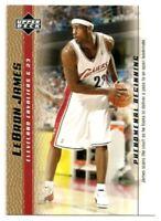 2003-04 Upper Deck LeBron James Phenomenal Beginning GOLD ROOKIE