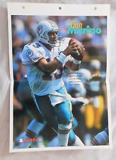 Dan Marino Miami Dolphins 14x10 Poster Page #30 Sports Heroes Sheet