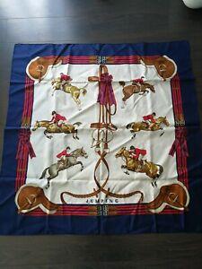 """foulard Hermes """"JUMPING"""" de Ledoux"""