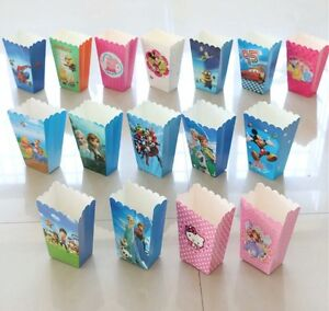 POPCORN BOXES LOLLY LOOT BOX KIDS PARTY SUPPLIES PARTY FAVOURS MOVIE NIGHT