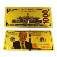 Donald Trump America Banknotes Commemorative Money Coin Collection Crafts Gifts