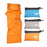 Ultralight Adult Single Envelope Sleeping Bag Camping Hiking w/ Carrying Bag Hot