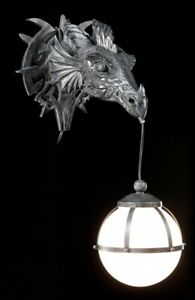 Dragon Wall Lamp - Figurine Gothic Lamp