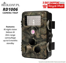Camera trap Hunting Scouting Trail Wildlife Infrared PIR LED Redleaf RD1006 new