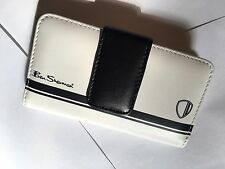 Ben Sherman Leather Universal iPhone 4, 4S Phone Pouch BS-VCXBS in Antique White