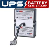 UPSBatteryCenter RBC109 Compatible Battery Pack for APC Back-UPS 1500 LCD BR1500LCDI New!