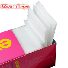 325pcs Gel Nail Remover Wrap Nail Art Gel Polish Remover Cotton Pad Nail Wipe