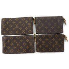 Louis Vuitton Monogram Cosmetic Pouch 4 pieces set 517487