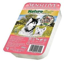 Naturediet Sensitive Salmon Vegetables & Brown Rice Dog Food 18 X 390g