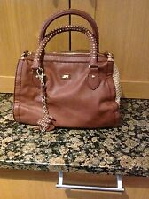 GORGEOUS RUSTY BROWN MISS SIXTY GOLD STUDDED GRAB BAG USED