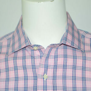 NWT BROOKS BROTHERS Regent Slim Fit Non Iron Supima Cotton Dress Shirt 16 - 34