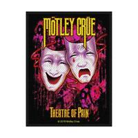 OFFICIAL LICENSED - MOTLEY CRUE - THEATRE OF PAIN SEW ON PATCH HEAVY METAL ROCK