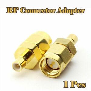 1x SMA Male to SMB male plug RF connector Adapter converter SMBM UK Seller