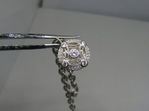 Stunning Tacori Sterling Silver and CZ Bracelet with Awesome Clasp