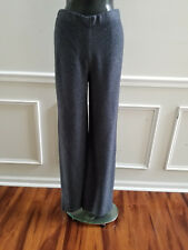 NEW ST.JOHN SANTANA KNIT REVEN/GUNMETAL pants (BLACK)   SIZE 12