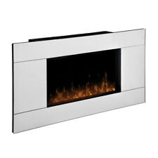BrandNewSealed Dimplex DWF-1329 Reflections Mirrored Wall-MountElectricFireplace