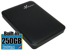 Avolusion 250GB USB 3.0  (PS4 Pre-Formatted) External PS4 Hard Drive