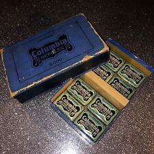 Columbia Superbe Gramophone Needle Tins (8) in original Retail/Dealers box
