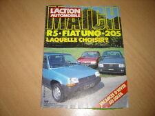 action auto N°283 205 XR/R5/Uno 70 SX.Salon de Paris