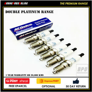 Spark Plug 6 Pack for Alfa Romeo 75 3.0L 6 CYL AR06124 6/05-6/05 41804