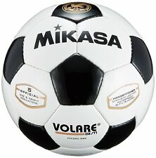 Mikasa Japan Football Ball Soccer Training Volare Svc50Vl-Bk Size:5 White Black