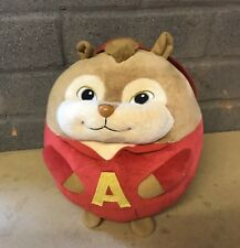 """ALVIN AND THE CHIPMUNKS 10"""" PLUSH BALL TOY TY VGC"""