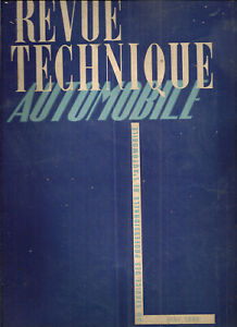 REVUE TECHNIQUE AUTOMOBILE 25 RTA 1948 STUDEBAKER CHAMPION COMMANDER