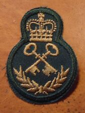 Canadian Armed Forces SUPPLY TECH qualification trade patch badge level 4 green