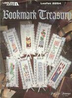 BOOKMARK TREASURY - CROSS STITCH BOOKMARK LEAFLET