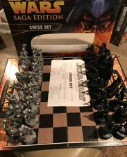 Star Wars Saga Edition Parker Brothers Chess Set Complete