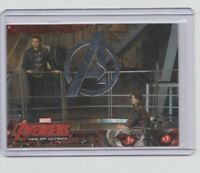 Avengers Age of Ultron Silver Parallel Trading Card  #43