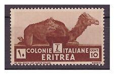 ERITREA  1933  -  SOGGETTI VARI -  CENTESIMI 10 -   NUOVO **