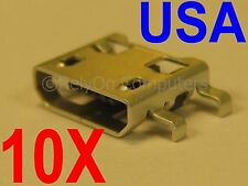 10x Lot Mcro USB Charging Port Charger Sync For LG K7 K330 LS665 LS675 MS330 USA