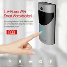 Wireless Remote Phone Video DoorBell Ring WiFi Visual PIR IR Night Vision Camera
