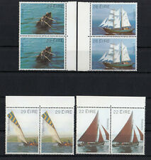 (54253) Ireland MNH Pairs Boats 1982