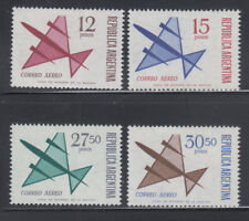 Argentina 1965 Sc C101-104 Airmails mint lightly hinged