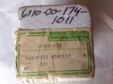 GE Magnetic Starter CR306J022