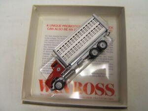 Winross Lancaster Stock Yards Livestock Hauler Delivery Truck 1/64 Rare MIB