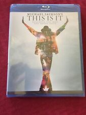 Michael Jackson: This Is It (2010, Blu-ray ) - New & Sealed Free Shipping
