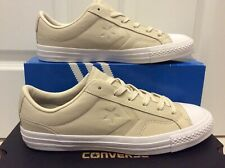 Converse Star Player Ox Natural Leather Classics All Star Chucks Uk 9.5