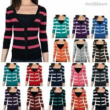 Unbranded S Striped Regular Size Sweats & Hoodies for Women