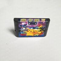 Pocket Monster II - 16 bit Game Card For Sega Genesis / Mega Drive System