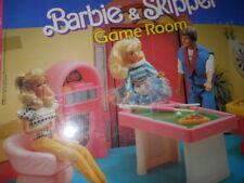 Barbie & Skipper Game Room Arco Toys  Ltd, Mattel production 1988  No. 7770 Doll